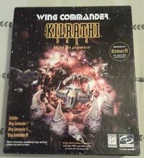 WING COMMANDER THE KILRATHI SAGA : I II III 1 2 3 PC GAME WIN 95 COMPLETE