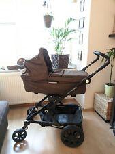 Brita/Römer Go Next Kombikinderwagen + Babywanne* 2-teilig * olive melange/braun