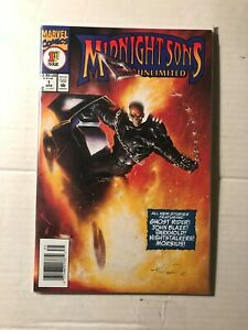 Midnight Sons Unlimited # 1 & 2  (1993) Marvel Comics Ghost Rider
