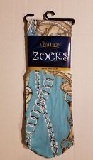 Ovation Zocks Ladies Women's Boot Socks SADDLE UP One Size Fits NWT SHIPS FAST