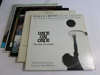 Lot Of 5 Soundtracks LP Wholesale Sunshine One On One Vinyl Record