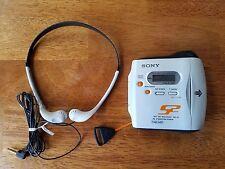 Sony Net MD Walkman MZ-S1 Portable Minidisc Player White w/ Disc  Tested