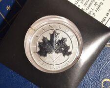 2012 ~ (Ten) ~ 10 Dollars RCM Maple Leaf Forever 9999 Silver