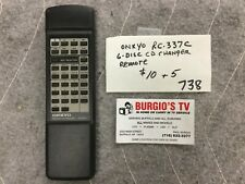 ONKYO RC-337C 6-DISC CD Changer Remote