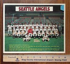 Original 1967 SEATTLE ANGELS PCL team photo Pacific Coast League baseball