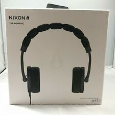 NIXON The NOMADIC On Ear Headphones Slate Grey Foldable Unisex Brand New In Box