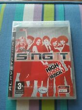 SING IT High School Musical 3 -PAL- Sony Playstation 3 PC3 BLES 00442