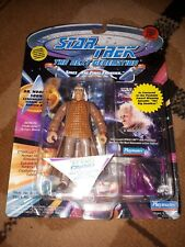 STAR TREK NEXT GENERATION DR NOONIAN SONG ACTION FIGURE BY PLAYMATES