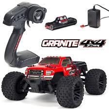 Arrma ar102681 Granite 4x4 Mega 1-10 Monster Truck rtr rojo de cargador incl. + batería