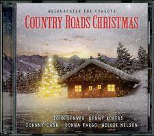 CD Country Roads Christmas - Weihnachten für Cowboys (John Denver, Johnny Cash..