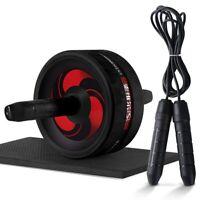 rueda Abdominal gimnasio Fitness equipo rodillo y cuerda de saltar