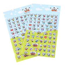 2pcs Panda 3D Bubble Puffy Sticker Decoration Kids DIY Diary Album Scrapbooking
