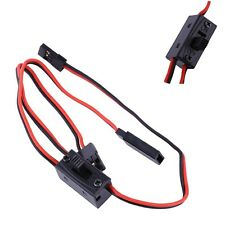 RC Switch Receiver Battery On/Off With JR Lead Connector &Charge Lead for Futaba