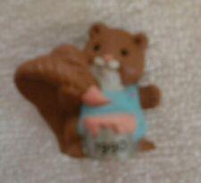 Hallmark 1990 - Merry Miniatures - Squirrel - New