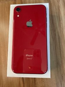 Apple iPhone XR - 128GB - unlocked - PRISTINE condition - (Product)Red edition