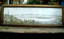 Vintage Framed STEPHENGRAPH Woven Silk Wall Art Hangzou East Lake View China