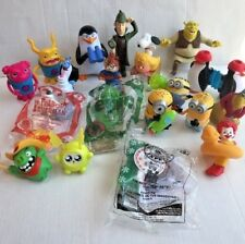 19 Meal Toys Lot Minion Snoopy Alvin Pets Epic Monsters Ronald McDonalds Burger