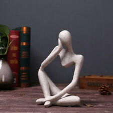 European Style Abstract Thinker Statue Sculpture Figurine Decoration H