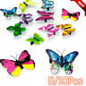 5/10X Butterfly Hair Clips Bridal Wedding Hair Accessory Photography Hairpins yu