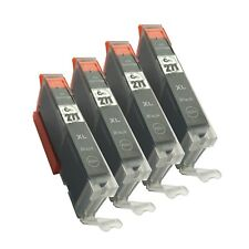 4 Black CLI-271XL CLI 271XL Ink Cartridge for Canon Pixma MG5720 TS5020 MG6820