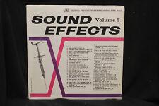 Sound Effects Volume 5  - Audio Fidelity  1963