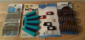Lot of 4 scünci and Goody Hair Accessories = Combs Claw/Small Clips French Braid