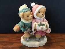 1998 Cherished Teddies Figurine Keith & Deborah Holidays Twice as Ice #354244