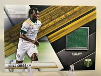 2021 Topps MLS Soccer Jersey Relics #JR-DC Diego Chara - Portland Timbers