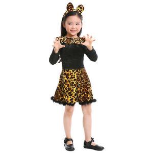 Halloween Costume Cute Little Cat Costume 4T