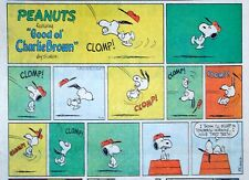 Peanuts by Charles Schulz - large half-page color Sunday comic - July 19, 1970