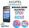 ALCATEL ONETOUCH S'POP Black CHEAP ANDROID Smartphone - UNLOCKED