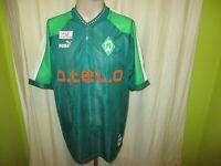 "Werder Bremen Puma Heim Trikot 1998/99 ""o.tel.o"" + Handsigniert Gr.M- L TOP"