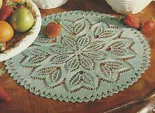 Circular Lace Table Place Mat/Doily Knitting Pattern 938