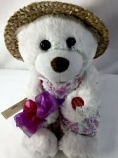 """Chantilly Lane 11"""" Kay Bear with Flowers Sings """"To Know You is To Love You"""""""