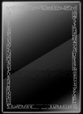 Yugioh official Card Sleeve Hieroglyphic Large Clear 70pcs