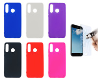 """Case Cover Gel TPU Silicone For Huawei P30 Lite (4G) 6"""" + Optional Protector"""