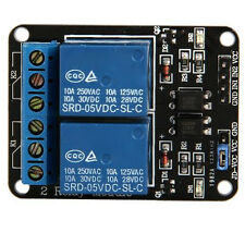 2 Kanal 5V Relay Relais Module Modul fuer Arduino Special Sensor Shield V4.0 GY