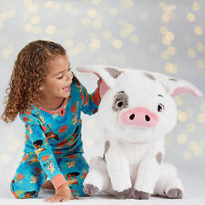 "US LIFE SIZE DISNEY STORE Moana PUA LARGE 17"" H animal pet pig plush toy doll"