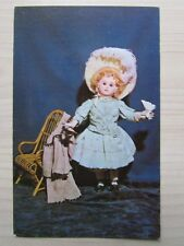 """""""LUCILLE"""" RARE FRENCH JOINTED DOLL POSTCARD BY ROBERT H. ARNOLD (USA) 1967."""