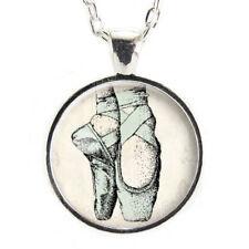 Ballet Dancer Necklace Ballerina Jewelry Gifts Dance Charm