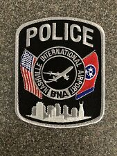 Nashville International Airport Police Patch Tennessee TN