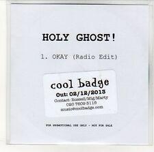 (EN544) Holy Ghost! Okay - 2013 DJ CD