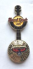 Hard Rock Cafe Pin Badge NBA BasketBall 3D Logo Guitar - Atlanta Hawks