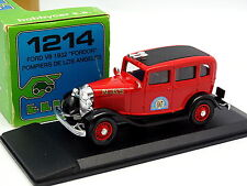 Eligor 1/43 - Ford V8 1932 Fordor Los Angeles Bomberos