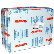 Gewiss 240x190x90mm Surface Plastic Electrical Adaptable Box IP56 - GW44208