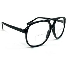 NWT Men Retro Reading Glasses Bifocal Cool Franco Aviator Large Frame Readers