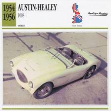 1954-1956 AUSTIN HEALEY 100S Sports Classic Car Photo/Info Maxi Card