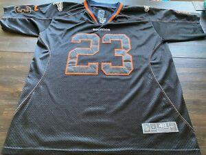 NFL Denver Broncos Willis McGahee Mens Nike Stitched Alternate Jersey- Sz 48