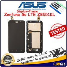TOUCH VETRO + LCD DISPLAY+FRAME PER ASUS ZenFone Go LTE ZB551KL X013D NERO
