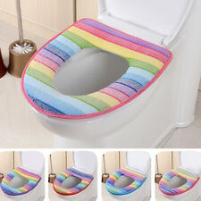 aseo colorido tapa del inodoro cierra temperatura muy lavable franela